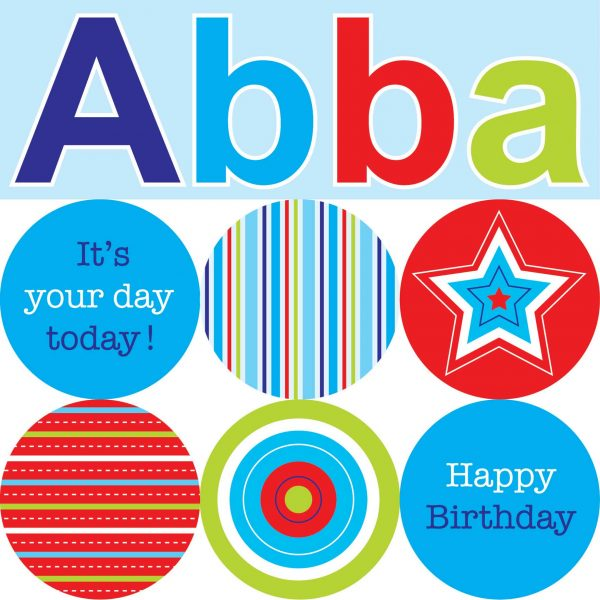 Abba Greeting Card