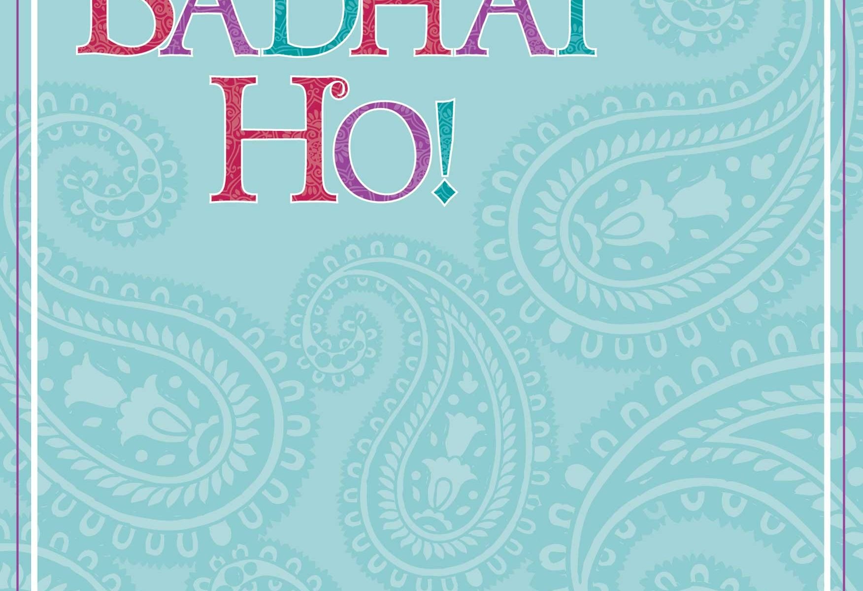 Badhai Ho Greeting Card