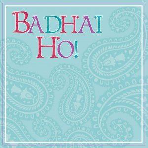 Badhai Ho Greeting Card