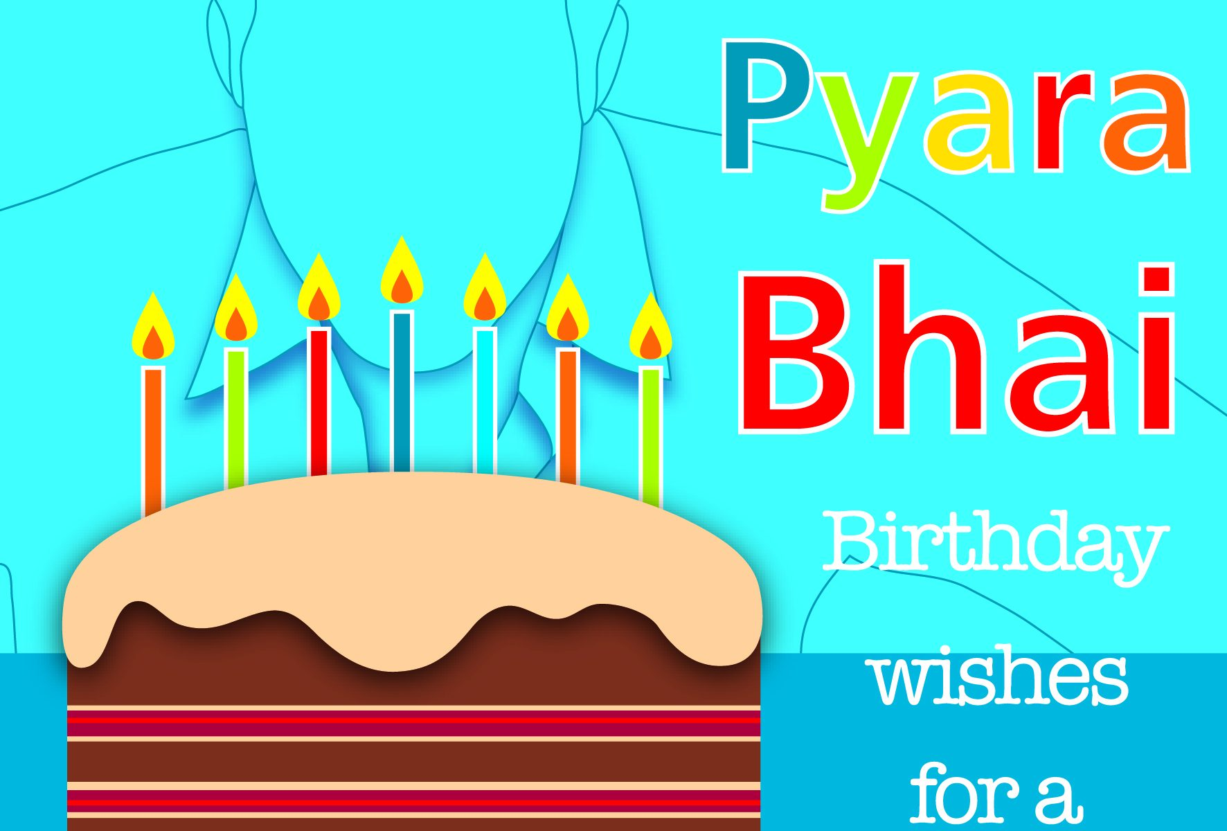 Bhai Birthday Card