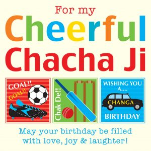 ChachaJi Greeting Card