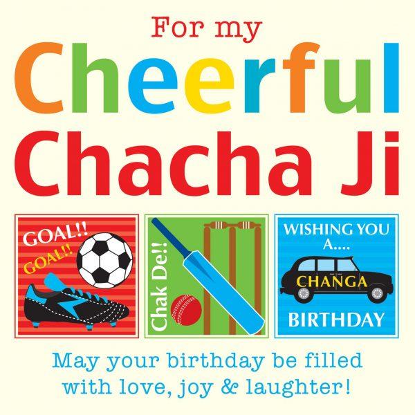 ChachaJi Greeting Card