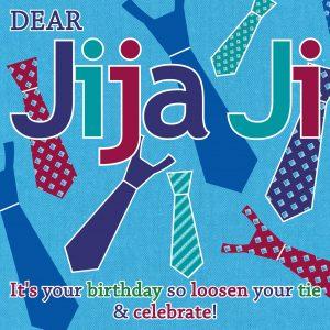 JijaJi Birthday Card