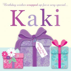 Kaki Birthday Card