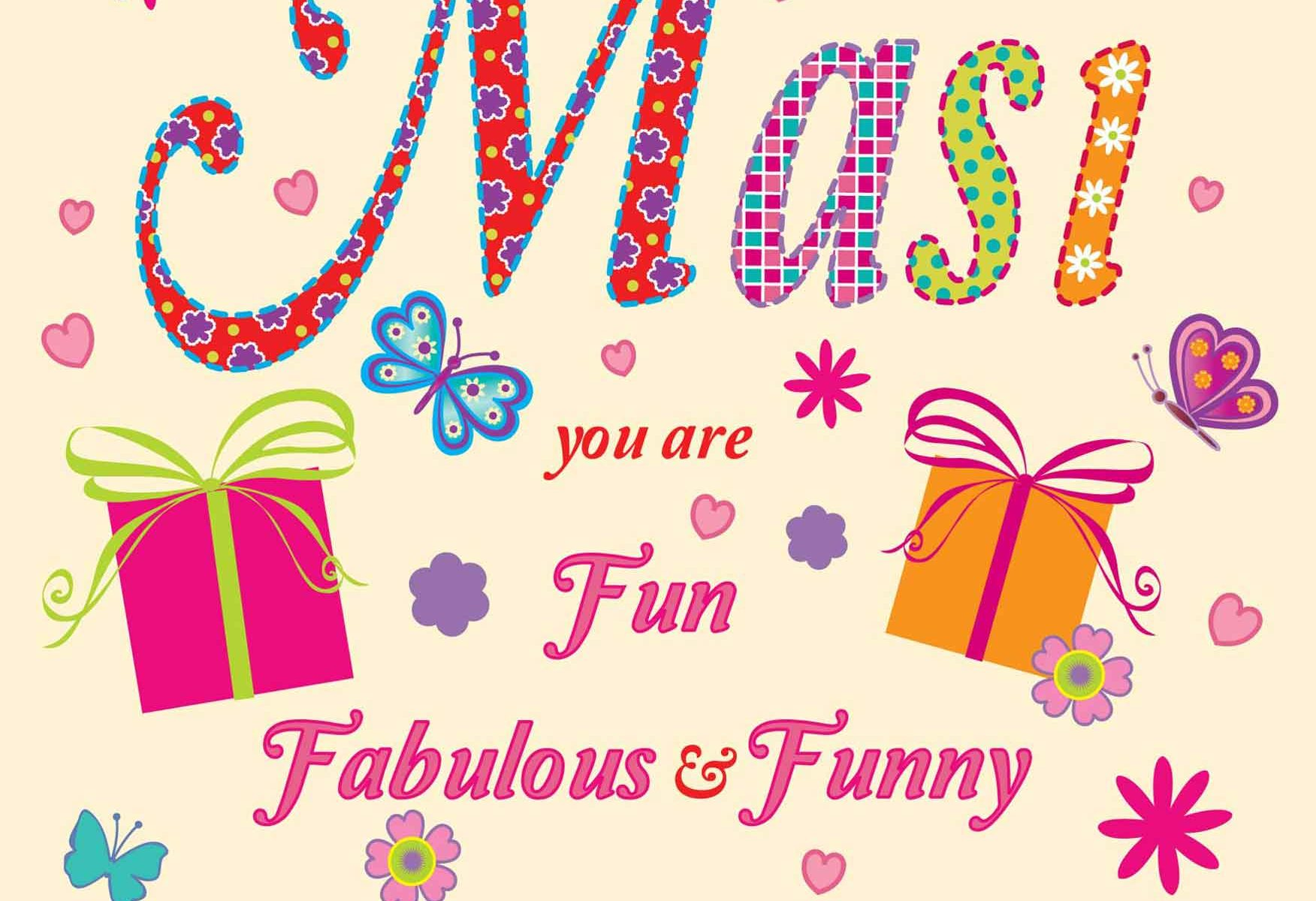 Masi greeting Card