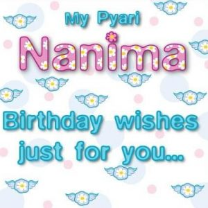 Nanima Greeting card