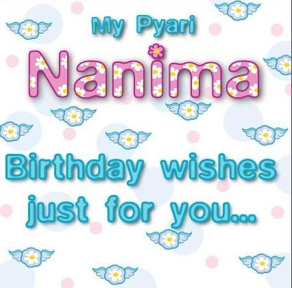 Nanima Greeting card