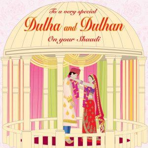 Wedding Day Shaadi Card