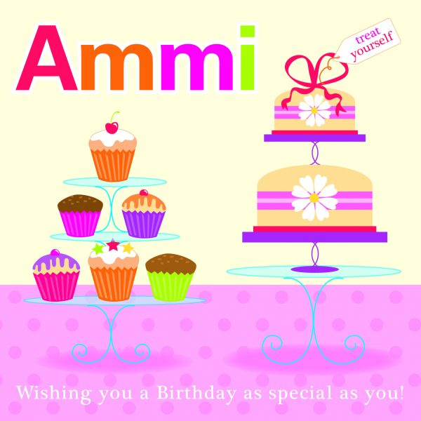 Ammi Greeting Card