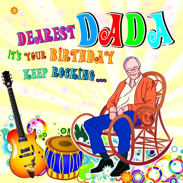 Dada Birthday Card