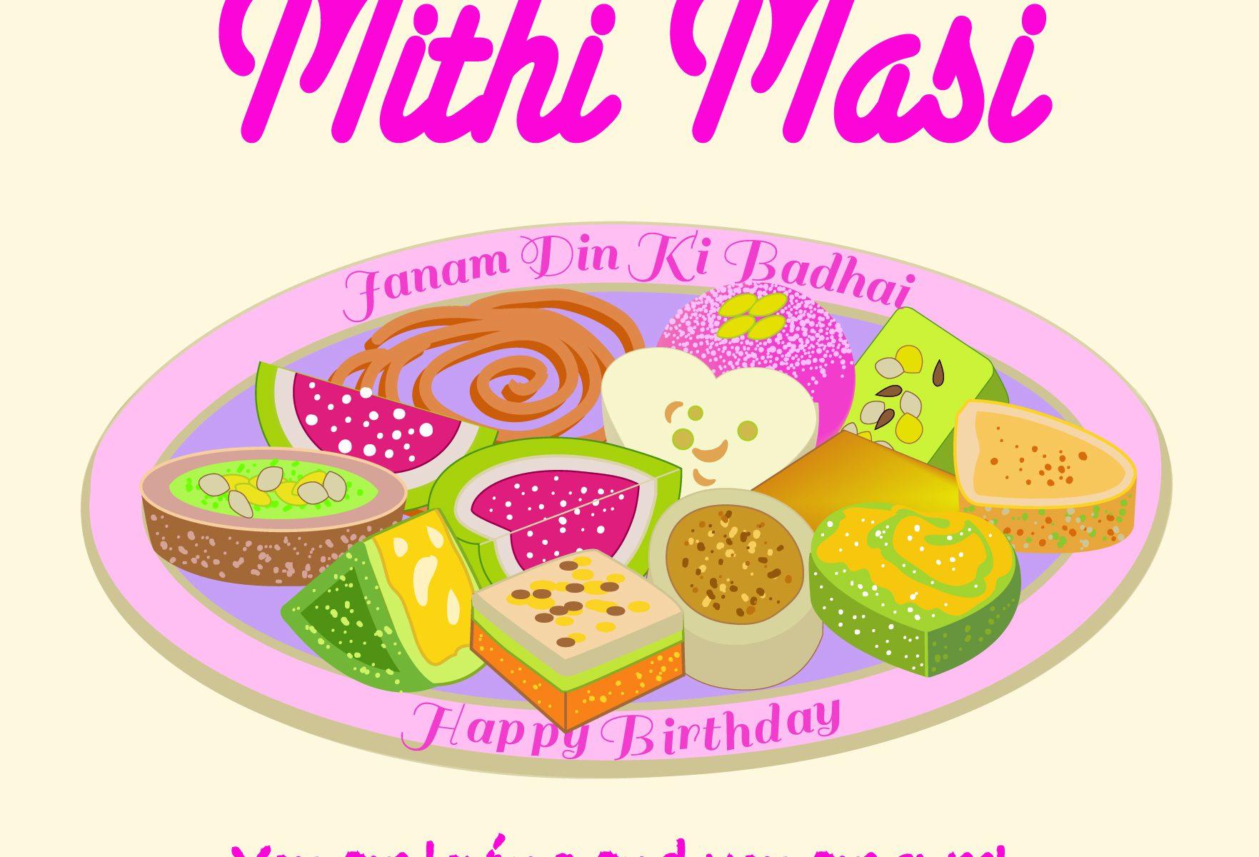 Masi Birthday card