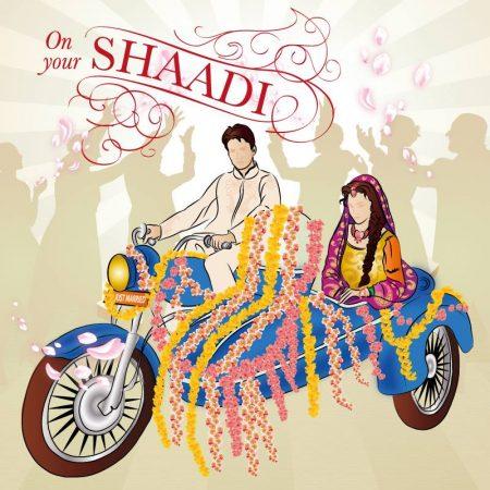 shaadi Greeting card