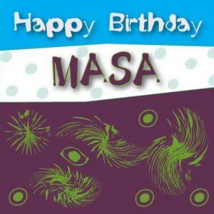Masa Birthday Card